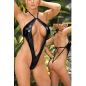 Maillot de bain body string hot wetlook